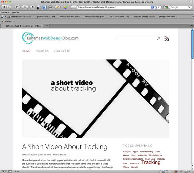 Bahamas Web Design Blog