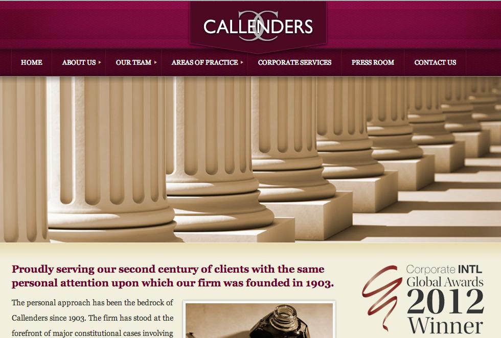 Callenders Law